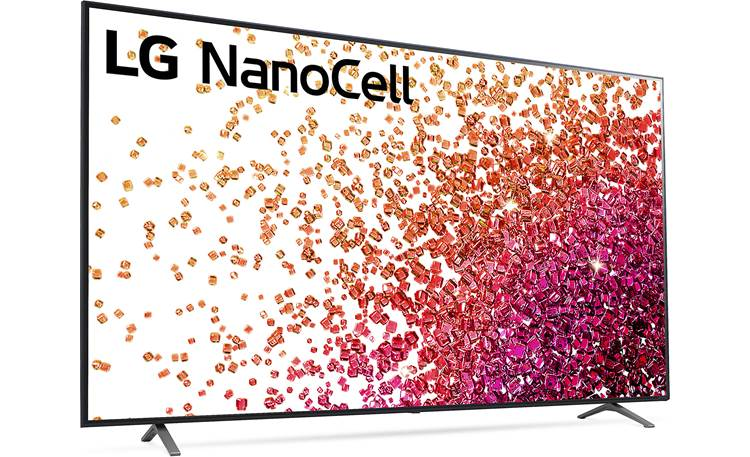 LG 75NANO75UPA Real 4K NanoCell Display provides accurate colors, even at wider viewing angles