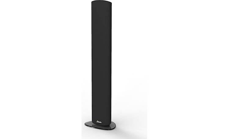 GoldenEar SuperSat 50 Table Stands Front (speaker not included)