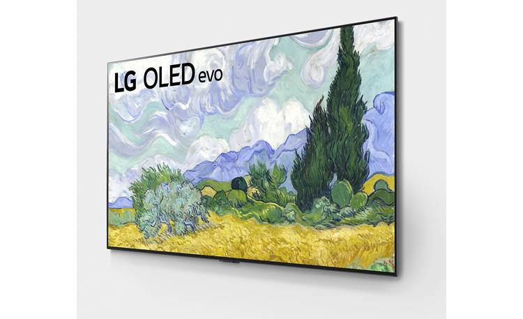 LG OLED77G1PUA Self-illuminating OLED (Organic Light Emitting Diode) evo display panel produces infinite picture contrast