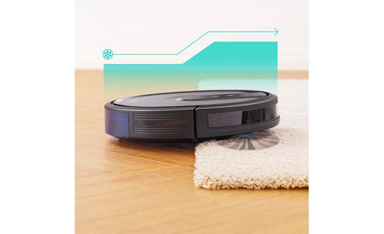 eufy RoboVac 35C BoostIQ automatically increases suction power as needed for different surfaces