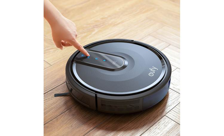 eufy RoboVac 35C Control RoboVac with a mobile app, or use the top-panel buttons