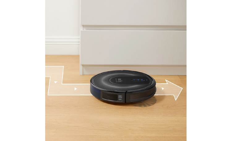 eufy by Anker RoboVac G30 Verge Plots cleaning paths automatically
