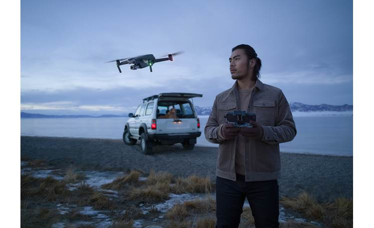 "DJI Air 2S Fly More Combo Large 1"" sensor performs well in low-light environments"