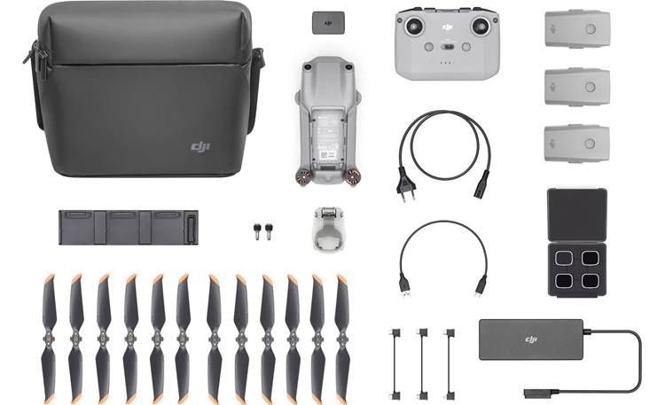 DJI Air 2S Fly More Combo Everything you need to stay airborne longer