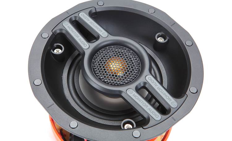 Monitor Audio CWT240 A pivoting gold dome C-CAM tweeter delivers smooth, revealing highs