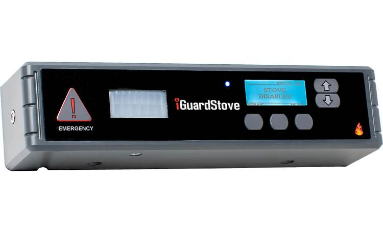 iGuardStove Hardwired Electric Cooktop Monitor Front of control box