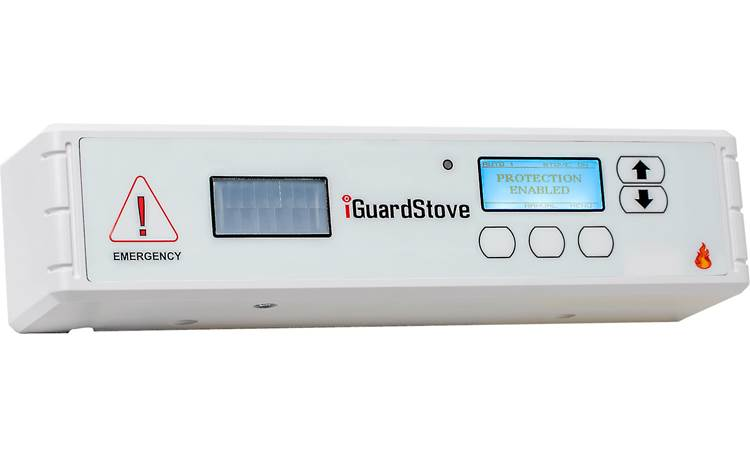 iGuardStove Hardwired Electric Cooktop Monitor Front