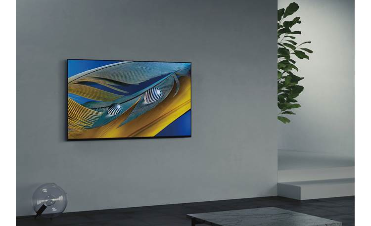 Sony BRAVIA XR-55A80J Seamless and space efficient when wall-mounted