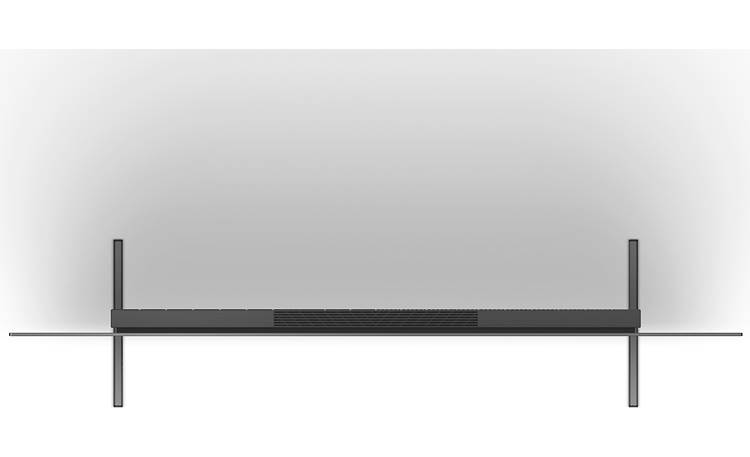 Sony BRAVIA XR-55A80J Stand in its widest position (top)