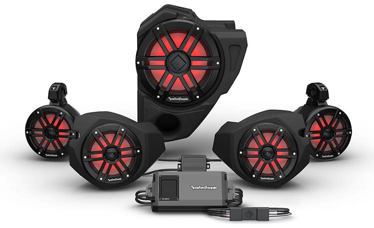 Rockford Fosgate RZR14RC-STG4 Front