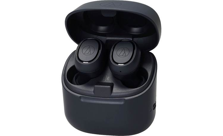 Audio-Technica ATH-CK3TW Charging case banks up to 24 hours of battery life to fully recharge headphones three times