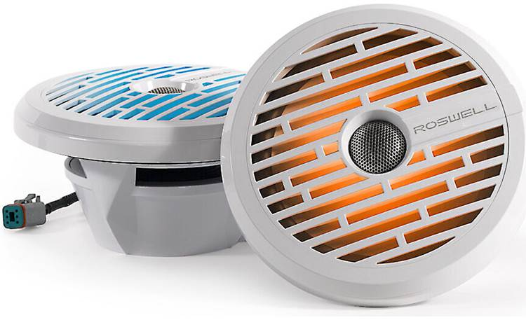 Roswell R1 8 marine speakers with RGB LED lighting