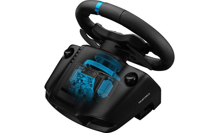 Logitech G G923 + Drive Force Shifter (Xbox®) Closed-loop motor provides accurate torque to match the game's physics
