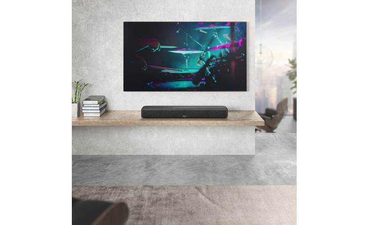Denon Home Sound Bar 550 Enjoy Hi-Res music using HEOS