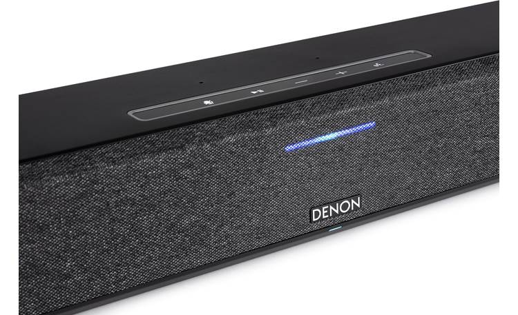 Denon Home Sound Bar 550 Move your hand close and the control panel will light up automatically