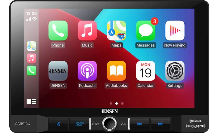 Jensen CAR910X This Jensen's big display is perfect for CarPlay