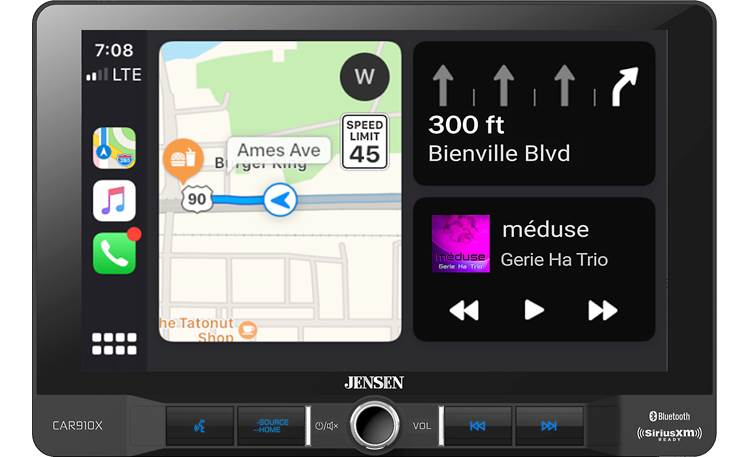 Jensen CAR910X Apple CarPlay