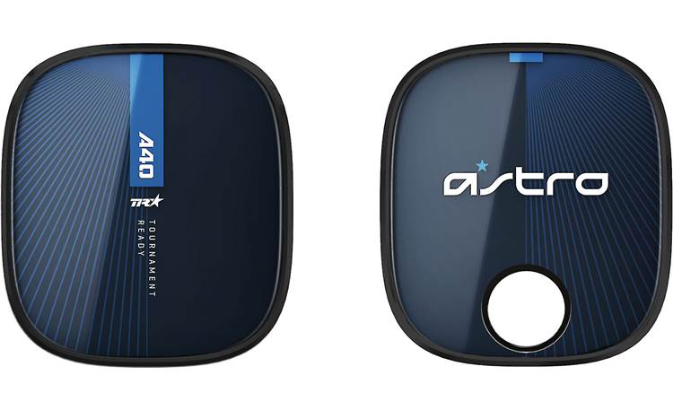 Astro A40 TR Gen 3 + MixAmp Pro TR (PlayStation®) Speaker tags can be removed and swapped out (alternate tags sold separately)