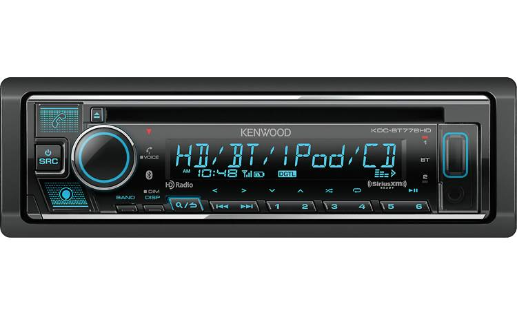 "Kenwood KDC-BT778HD Click the ""Alexa"" button to get voice control over helpful media"