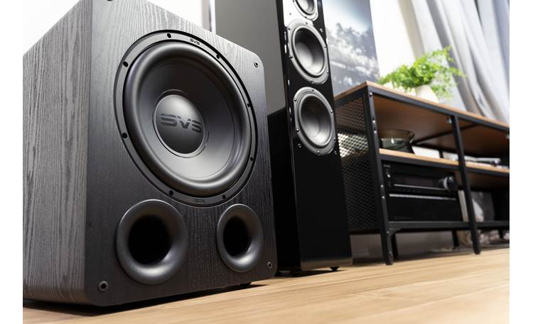 SVS PB-1000 Pro Bring the thunder to your home theater system with deep, impactful bass