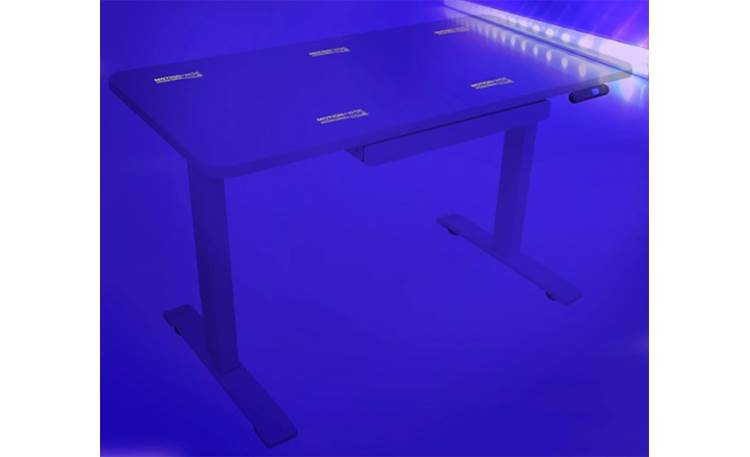 Motionwise ATB48W Sit/Stand Use included UV light to check desk's germ-free status