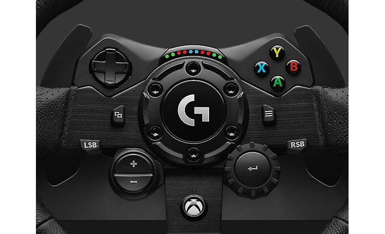 Logitech G G923 (Xbox®) Built-in Xbox One/Xbox Series X controls