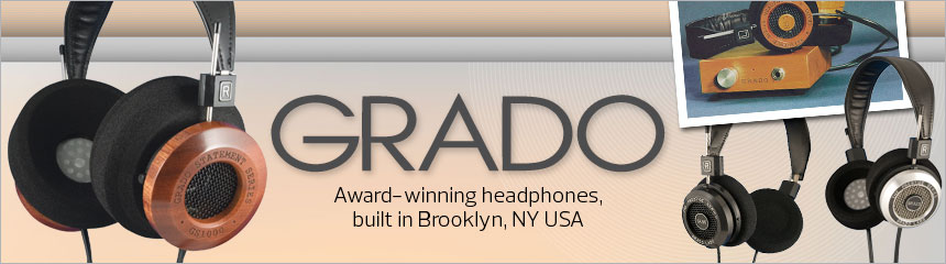 Shop Grado at Crutchfield