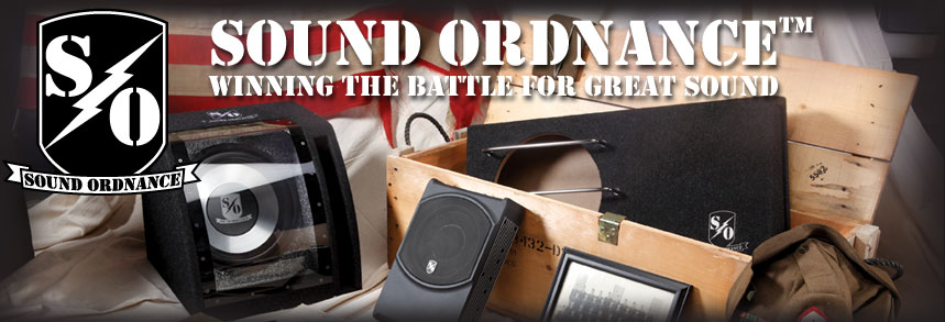 Shop Sound Ordnance at Crutchfield