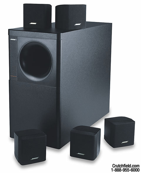 bose acoustimass 6 series ii black home theater. Black Bedroom Furniture Sets. Home Design Ideas