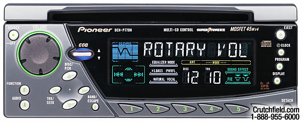 Pioneer Car Audio Wiring Deh P77dh - Owner Manual & Wiring Diagram on