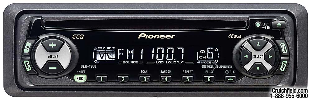 pioneer deh 1300mp installation guide a good owner manual example u2022 rh usermanualhub today Pioneer Deh 1300Mp Installation Pioneer Deh 1300Mp Owner's Manual