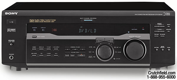Sony Str V Receiver With Dolby Digital And Dts At