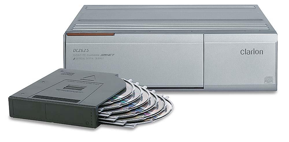 Clarion DCZ625 6-disc CD Changer at Crutchfield.com