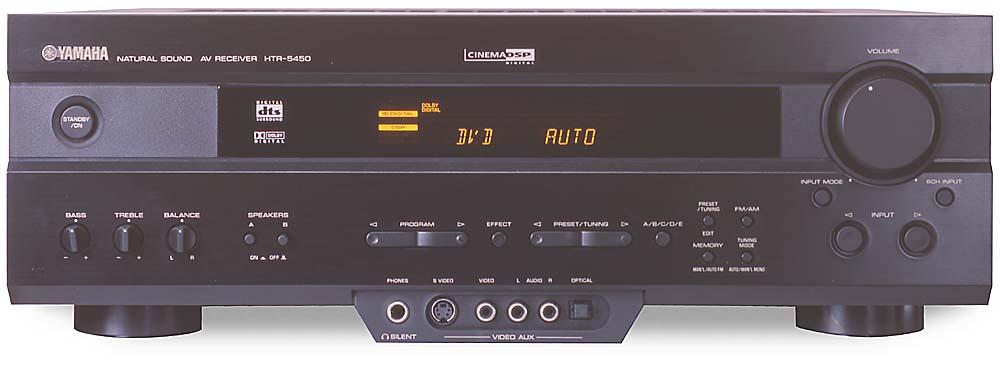 yamaha htr 5450 a v receiver with dolby digital and dts at rh crutchfield com yamaha receiver htr 5450 manual 2001 Yamaha Receivers
