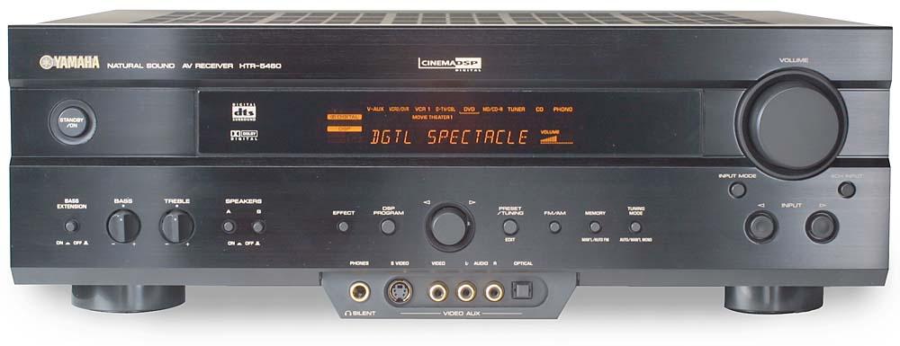 yamaha htr 5460 a v receiver with dolby digital and dts at rh crutchfield com yamaha htr 5860 manual pdf yamaha htr-5460 manual