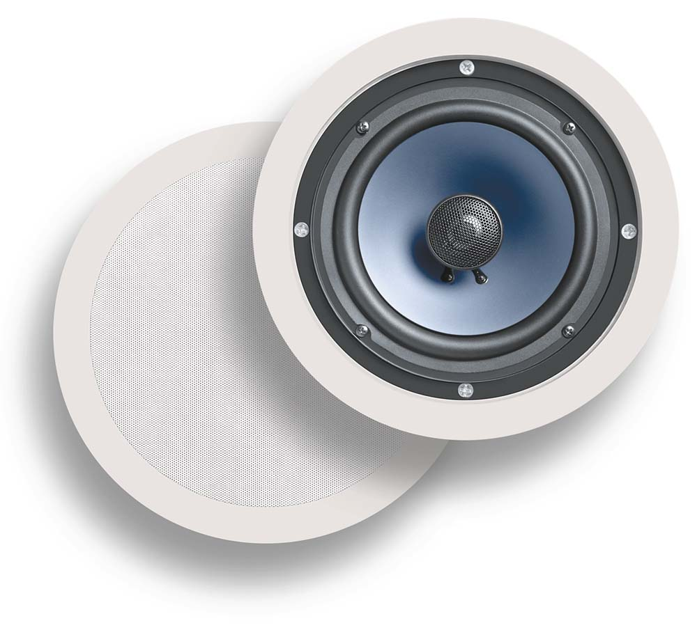 Polk Audio RC80i In-ceiling speakers at Crutchfield.com