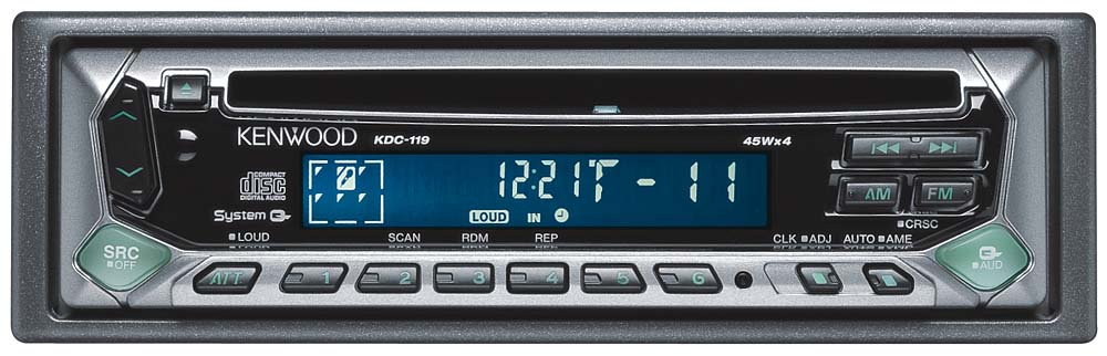 kenwood kdc 119 cd receiver at crutchfield com rh crutchfield com kenwood kdc-119 wiring diagram