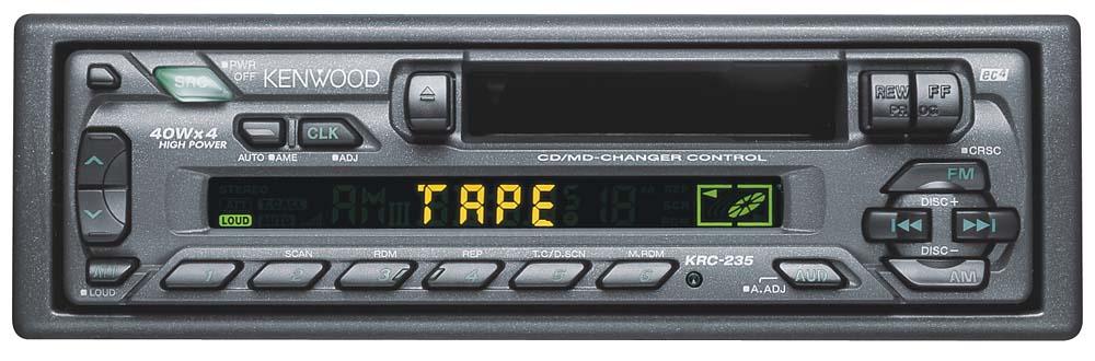 Cool Kenwood Krc 235 Cassette Receiver At Crutchfield Com Wiring Digital Resources Nekoutcompassionincorg