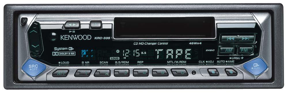 kenwood krc 335 cassette receiver at crutchfield com rh crutchfield com Kenwood Radio Wiring Diagram Kenwood Wiring Harness Diagram Colors
