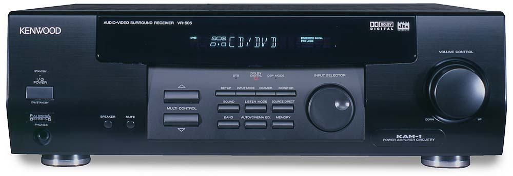 Kenwood Vr 505 A V Receiver With Dolby Digital And Dts At Kenwood Vr-60rs Price Kenwood Vr-60rs Manual Kenwood Vr 60rs Review