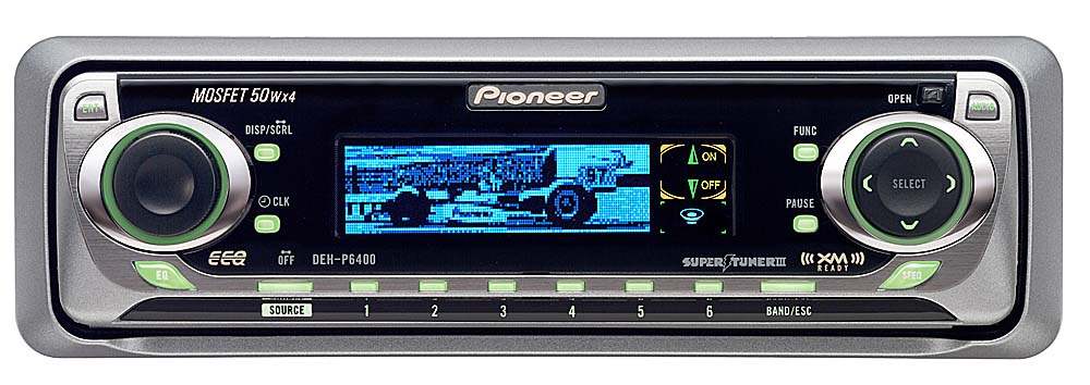 x130DEHP640 f pioneer deh p6400 cd receiver with cd changer controls at pioneer deh p6400 wiring harness at bayanpartner.co