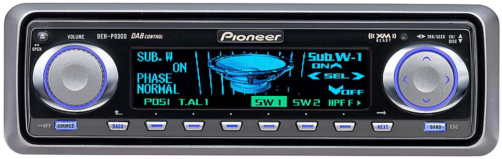 x130DEHP930_dmt pioneer deh p9300 cd receiver with cd changer controls at pioneer deh-p9300 wiring diagram at mifinder.co