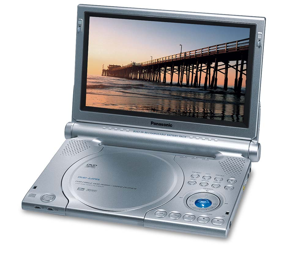 Panasonic DVD-LA95 Portable DVD/CD/DVD-Audio player with 9\
