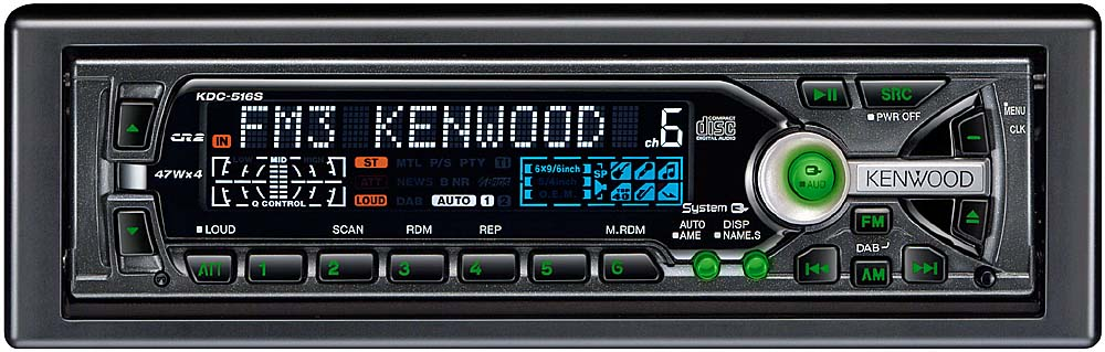 x133KDC516S_dmt kenwood kdc 516s cd receiver with cd changer controls at kenwood kdc 416s wiring diagram at readyjetset.co