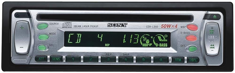 x158CDXL350_1 sony cdx l350 cd receiver at crutchfield com sony cdx l350 wiring diagram at aneh.co
