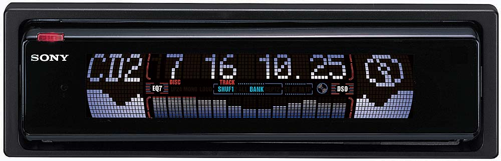 sony es cdx m670 cd receiver with cd changer controls at  sony cdx m670 youtube