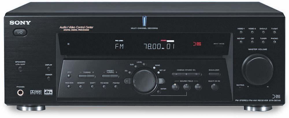 sony str de675 a v receiver with dolby digital and dts at rh crutchfield com Sony STR De675 Receiver Sony STR De675 Review