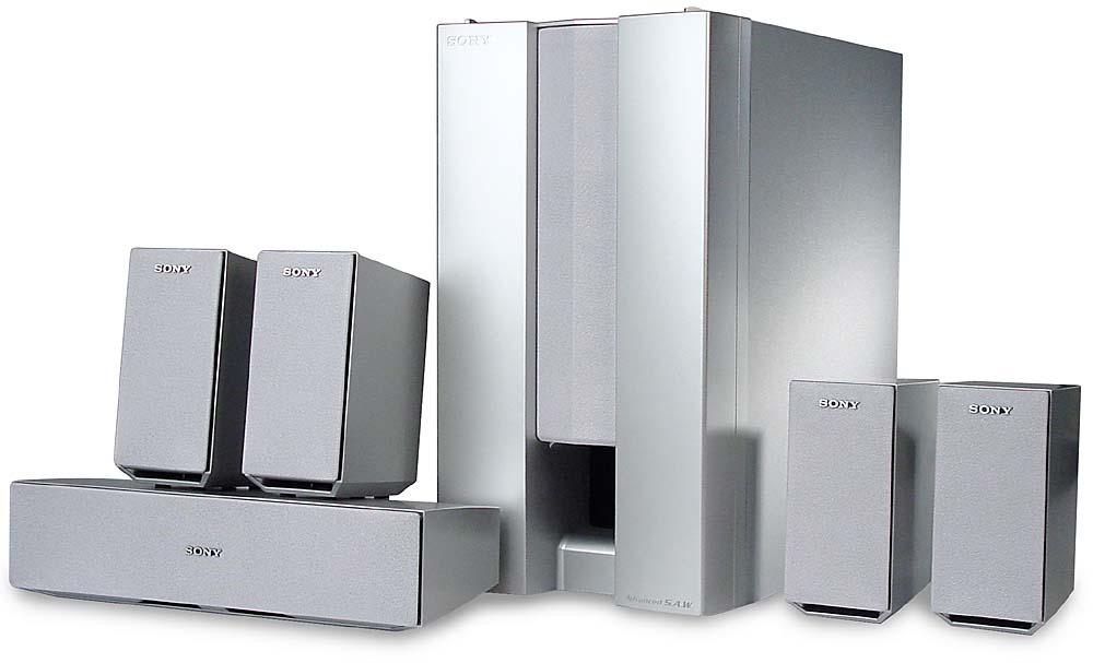 sony sa ve325 home theater speaker system at crutchfield com