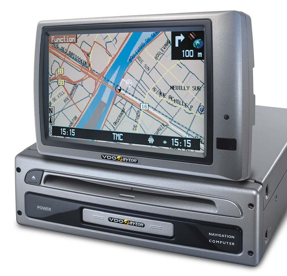 VDO Dayton MS5000 Navigation System with 5.8