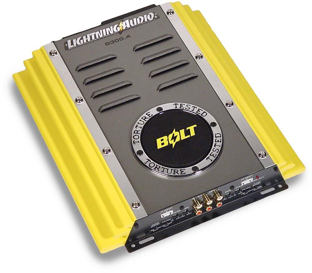 Lightning Audio Bolt B3004 50W x 4 Car Amplifier at Crutchfield – Lightning Amp Wiring Diagram